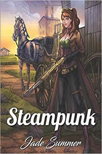 Steampunk Coloring Book by Jade Summer