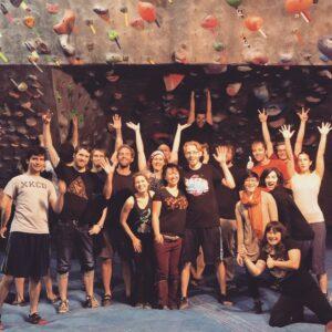 Jess w/Backflip Climbers